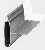 Aluminium-Anschlagprofil für Gleiter
