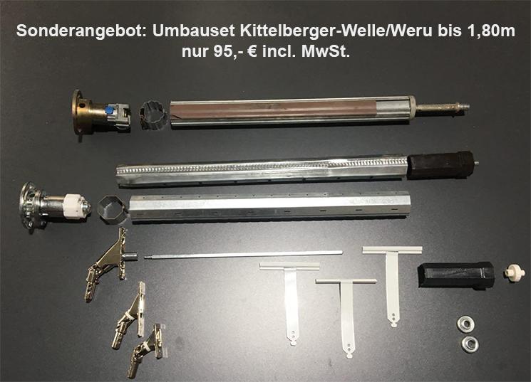 Umbauset Kittelberger-Welle
