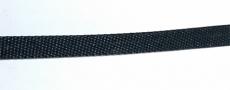 Aufzugsband 6x0,33 mm schwarz