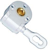 Schneckengetriebe 7:1 für Vierkant 13 mm Öse 80mm
