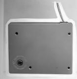 Kurbelgetriebewickler Aufputz Mini inkl. Kurbel, weiß