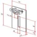 Motorplatte Neubau  für 10mm Vierkant lösbar