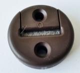 Gurtführung 22mm rund, braun